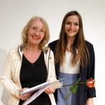 Preisverleihung des Literaturwettbewerbes