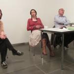 Lesung mit Maren Pfeifer und Hidir Celik, Moderatorin Almut Schubert