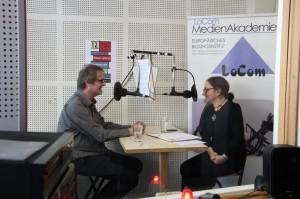 Achim Hamacher mit Nino Müntnich