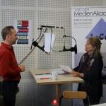 Gerd Gräwe mit Almut Schubert
