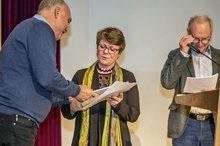 1.Preis Kurzgeschichten Regine Schleheck; Foto: Jürgen Seidel
